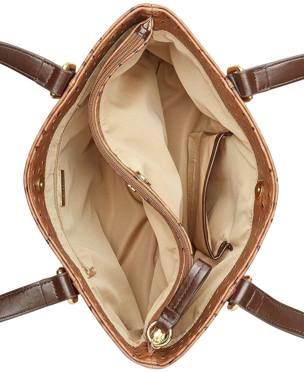 Amazon.com  Giani Bernini Ostrich-Embossed Tote  Shoes 2d64f6f128