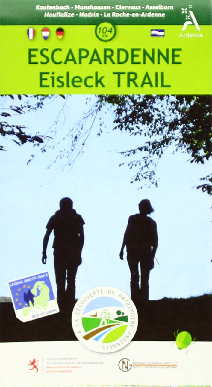Escapardenne Eisleck Trail  1 : 25 000