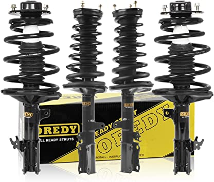 Front and Rear Full Set Shocks Struts For Lexus ES300 Toyota Camry