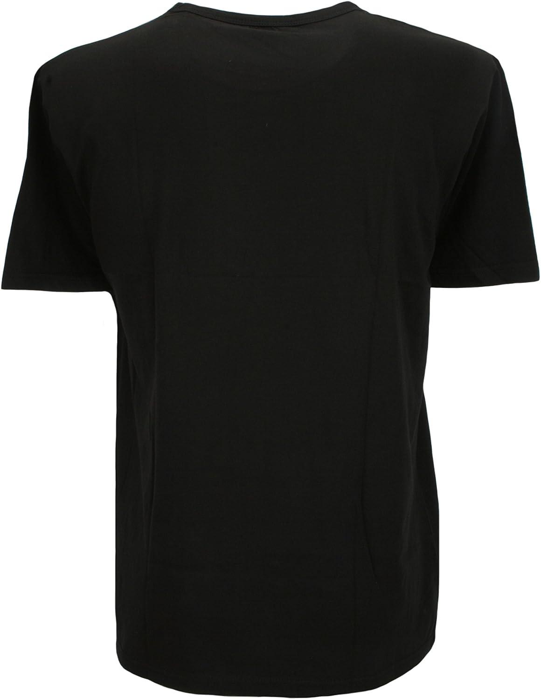 Atano Mens Cotton Jersey Short Lounge Pyjama Set Black
