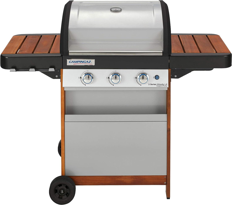 Campingaz Gas BBQ 3 Series Woody LX, 3 Burner Gas ...