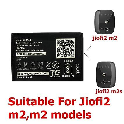 Tos- BatteryJiom2s Reliance Jiofi 2, Jiofi 2 m2s H12348