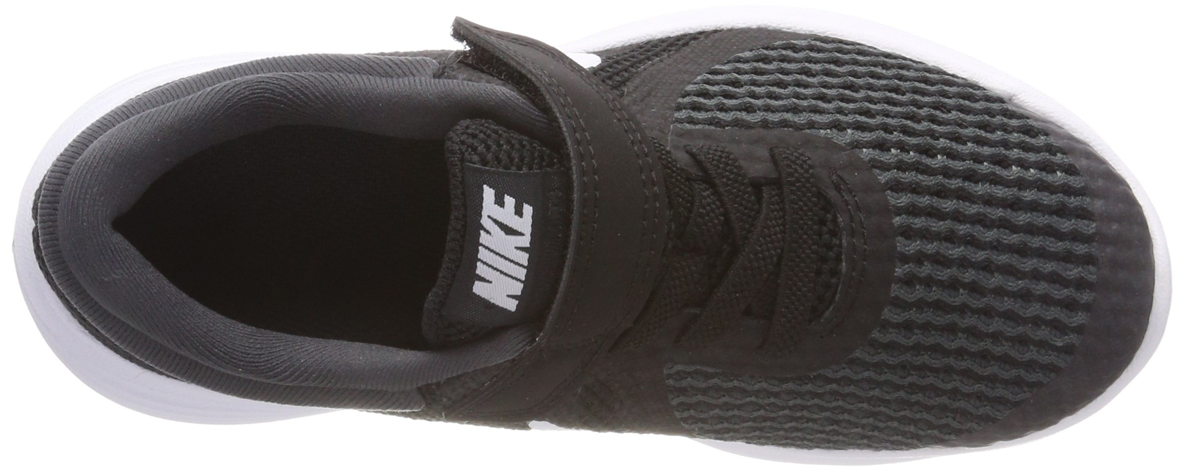 Nike Boys' Revolution 4 (PSV) Running Shoe, Black/White-Anthracite, 10.5C Youth US Little Kid by Nike (Image #7)