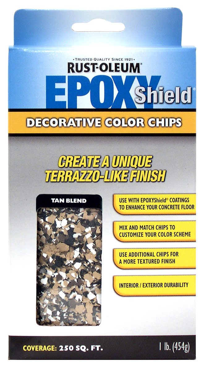 Amazon Rust Oleum 238470 Epoxyshield Decorative Color Chips