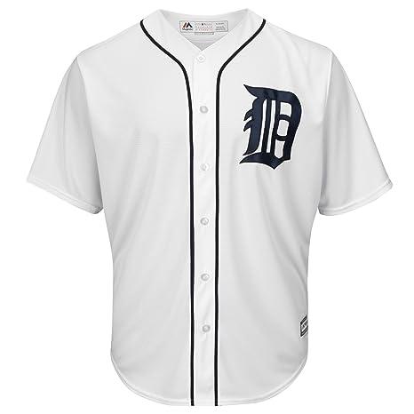 big sale 18bea e90a3 Majestic Detroit Tigers Cool Base MLB Jersey Home: Amazon.co ...
