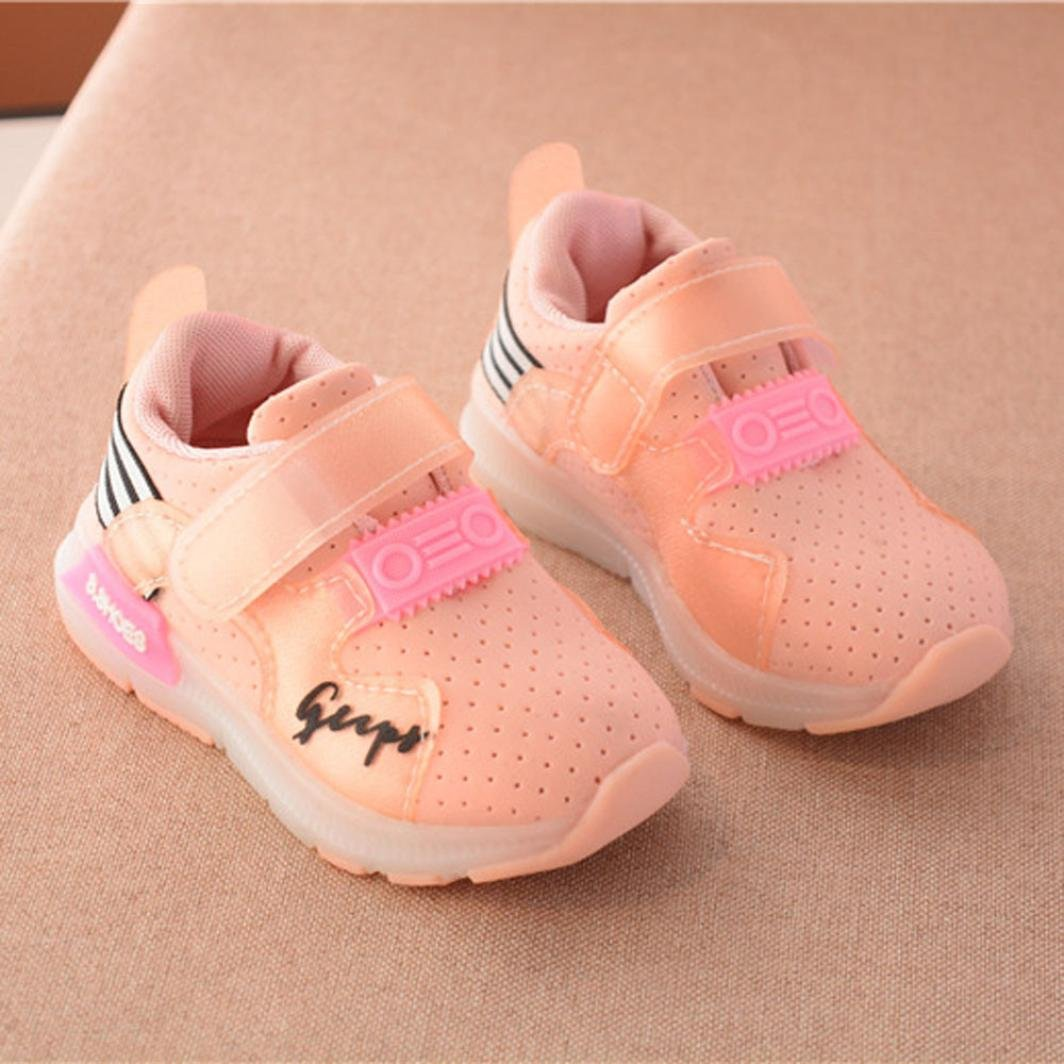 8ce8d3cdeb89 Autumn Boy Girl Kid Fashion Breathable Mesh Sneakers Luminous Shoes  Moonker-MN-1212 Baby LED Light Shoes for 1-6 Years Old Baby