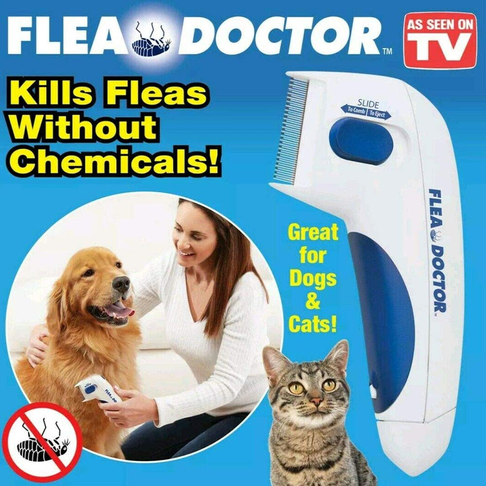NeoPaw Flea Doctor Electronic Flea Comb for Dogs & Cats As Seen On TV by NeoPaw (Image #2)