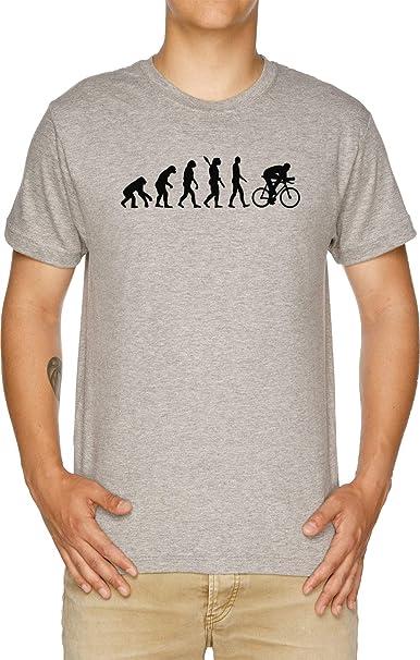 Vendax Evolución Ciclismo Bicicleta Camiseta Hombre Gris ...