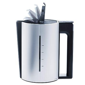 8b165786611 Jacob Jensen Designer Electric Kettle, 1.2 Litre, Aluminium: Amazon ...