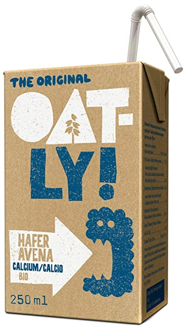 Oatly, Leche (Avena calcio) - 9 de 250 ml. (Total 2250 ml.): Amazon.es: Alimentación y bebidas