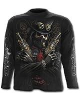 Spiral - Men - STEAM PUNK BANDIT - Longsleeve T-Shirt Black