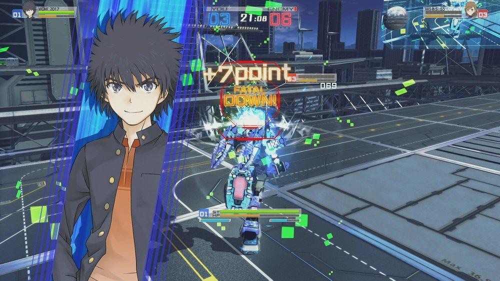 [とある魔術の電脳戦機 (Toaru majuttsu no Virtual On)] กับ รายละเอียด Demo ในวันใกล้ๆกันนี้!!!