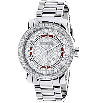 862edf13b50 Mens Diamond Watch 0.12ctw of diamonds by Luxurman