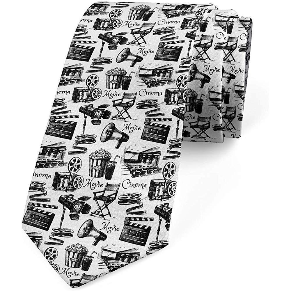 Corbata de hombre, Vintage Film Cinema, corbata de vestir, 8 cm ...