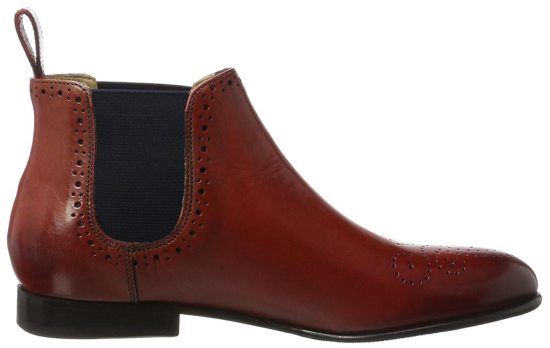 MELVIN & HAND HAMILTON MH HAND & MADE Schuhe OF CLASS Damen Sally 16 Chelsea Stiefel, Rot (Crust Rich ROT, Ela. Navy, Hrs) 499d29