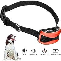 ZRYstore Digital anti écorce Dog collier d'entraînement avec le son et les vibrations-résistant à l'eau et rechargeables avec 7 niveaux de vibration et de l'entraînement bip