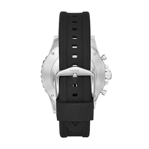 Amazon.com: Smartwatch Fossil Hybrid Q Crewmaster con correa ...