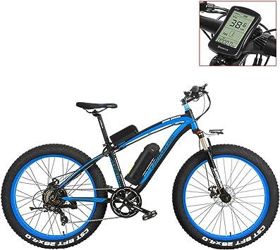 LANKELEISI XF4000 Bicicleta de montaña eléctrica 26 Pulgadas ...