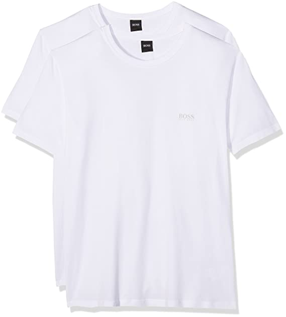 tee 4, Camiseta para Hombre, Blanco (White 100), Small HUGO BOSS