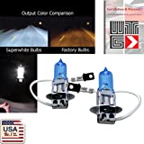 WTG H3 (Fog Light) 1 PAIR 100W Super White Xenon Halogen OEM Headlight Light