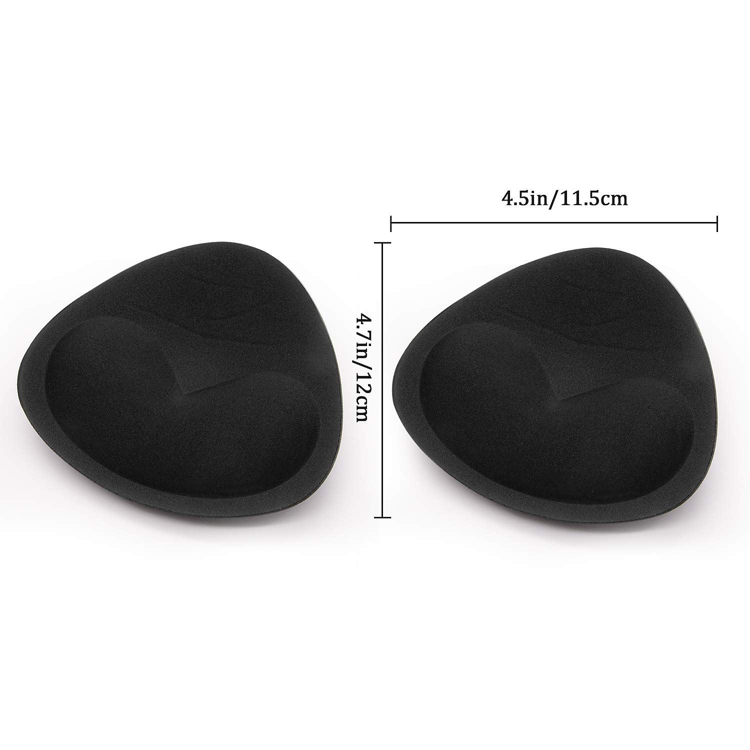 Bra Pads Inserts Women Lady Swimsuit Push up Removable Bra Enhancer Bra Breast Natural Suitable for A B C and D