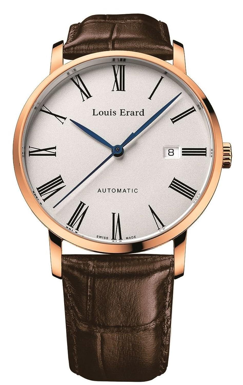 [ルイエラール]Louis Erard 腕時計 機械式自動巻 3針 デイト ETAムーブメント LE68233PR01BRC03 メンズ 【正規輸入品】 B07CJNBYNL