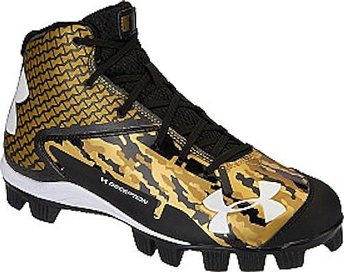 Under Armour UA de los niños engaño Mid RM Jr. Tacos de béisbol  Amazon.es   Zapatos y complementos 2a845d05f32