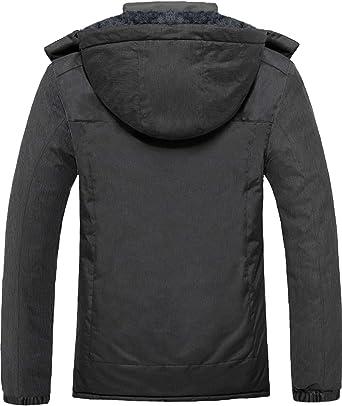 GEMYSE Womens Mountain Waterproof Ski Jacket Windproof Fleece Outdoor Winter Coat with Hood