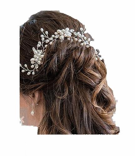 Mujer Cabello Joyas Accesorios Pelo Flores Adorno Para Cabello Pelo - Adornos-de-novia-para-el-cabello