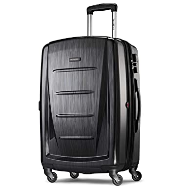 4559e166c Amazon.com | Samsonite Checked-Large, Brushed Anthracite | Carry-Ons