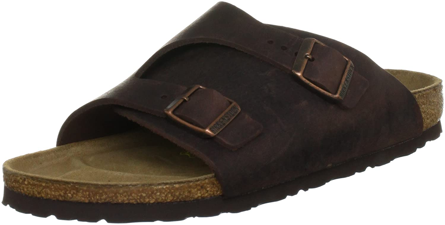 Birkenstock womens Z眉rich from Leather Sandals