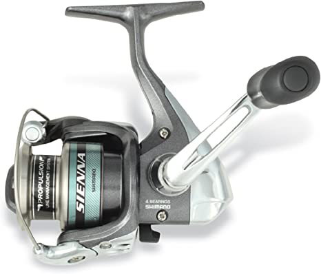 Shimano Sienna 2500 Front Drag Carrete Spinning: Amazon.es ...