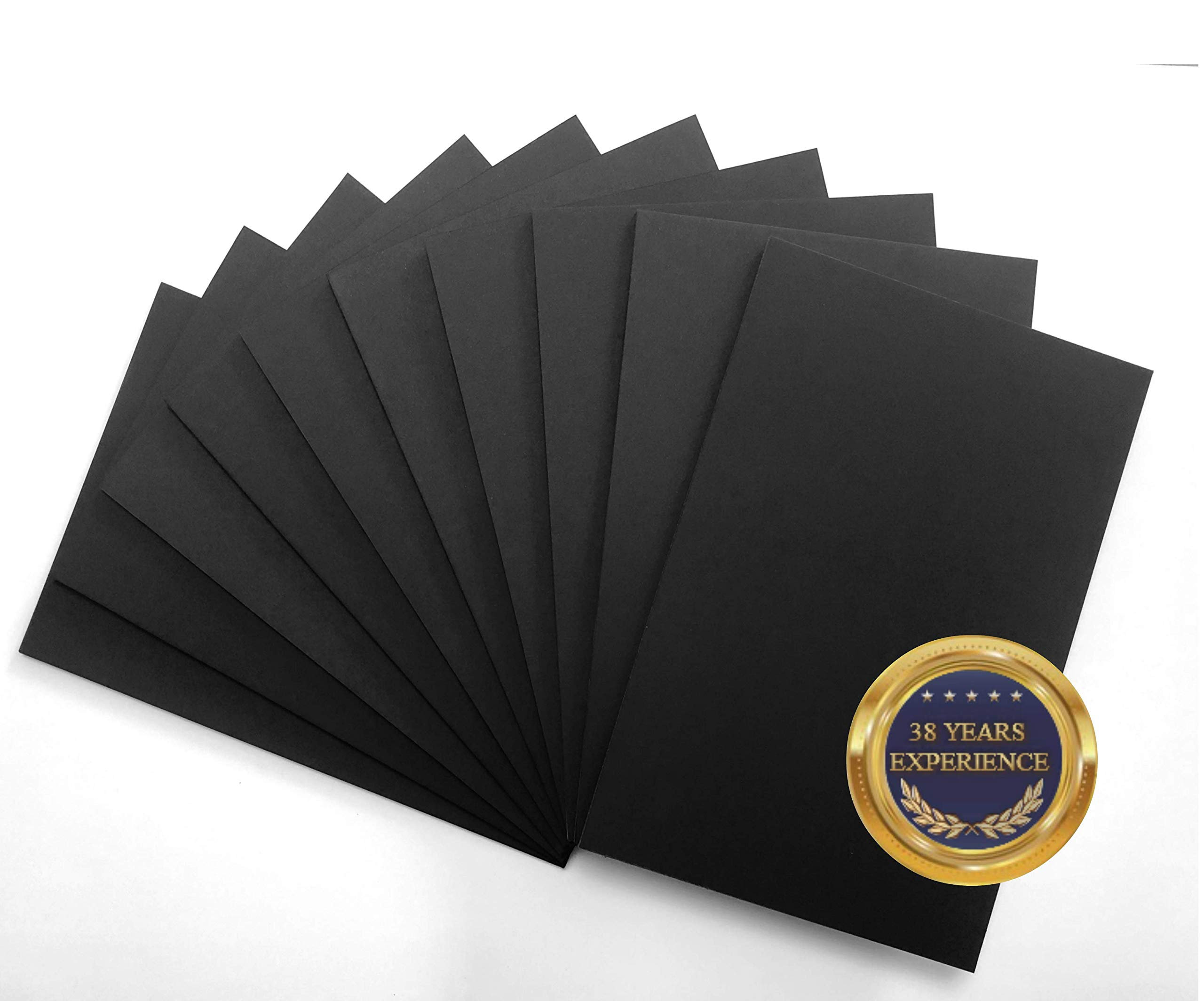 NODITO Premium Foam Board Black 20 x 30 x 3/16'' 10-Pack : Matte Finish High-Density Professional Use, Perfect for Presentations, Signboards, Arts and Crafts, Framing, Display (Black, 20x30) by NODITO