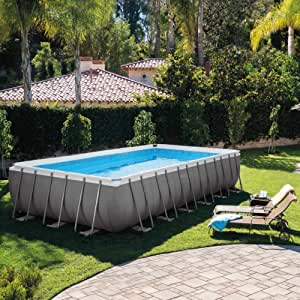 Intex Piscina Ultra Frame 7,32 m x 3,65 m x 1,32 m: Amazon.es ...