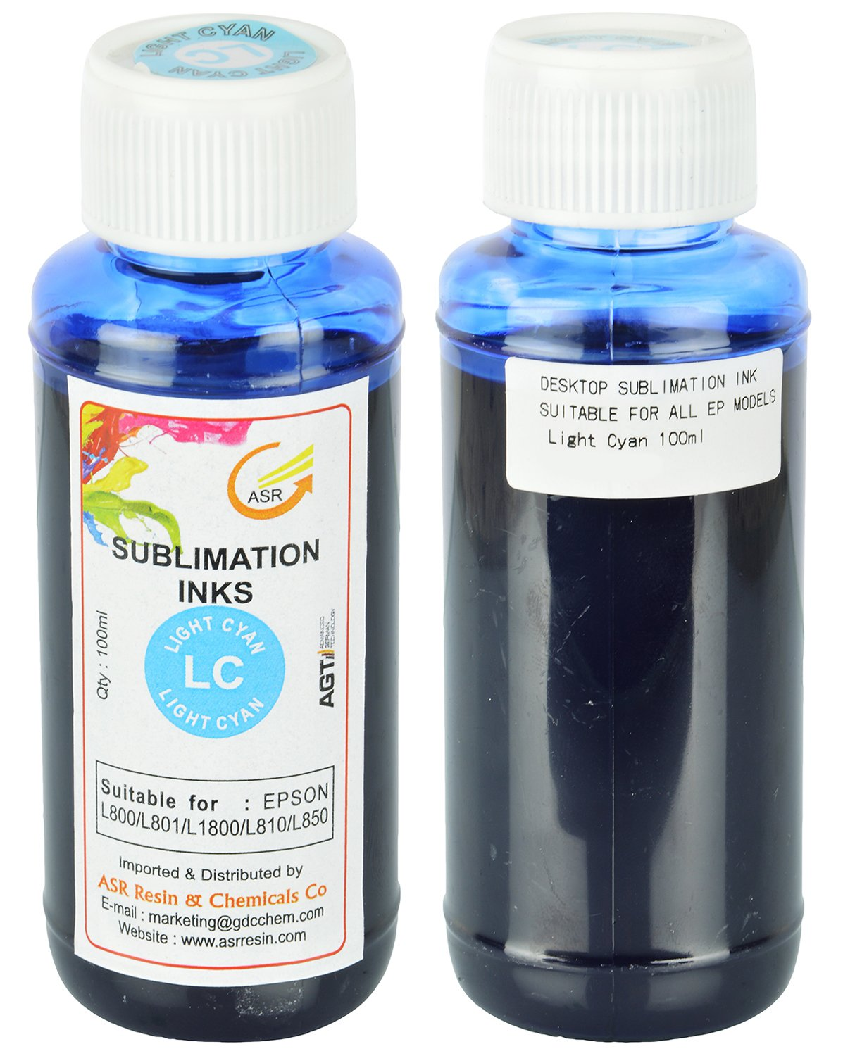 Sublimation Ink Combo Of 6 For Epson Printer L800 L801 L1800 L810 L850 100 Ml Office Products