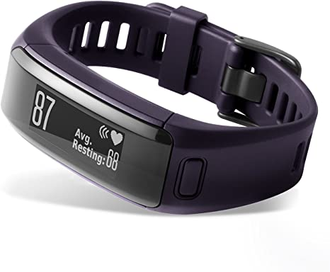TALLA M-L. Garmin Vívosmart HR - pulsera de actividad con pulsómetro integrado Garmin Elevate
