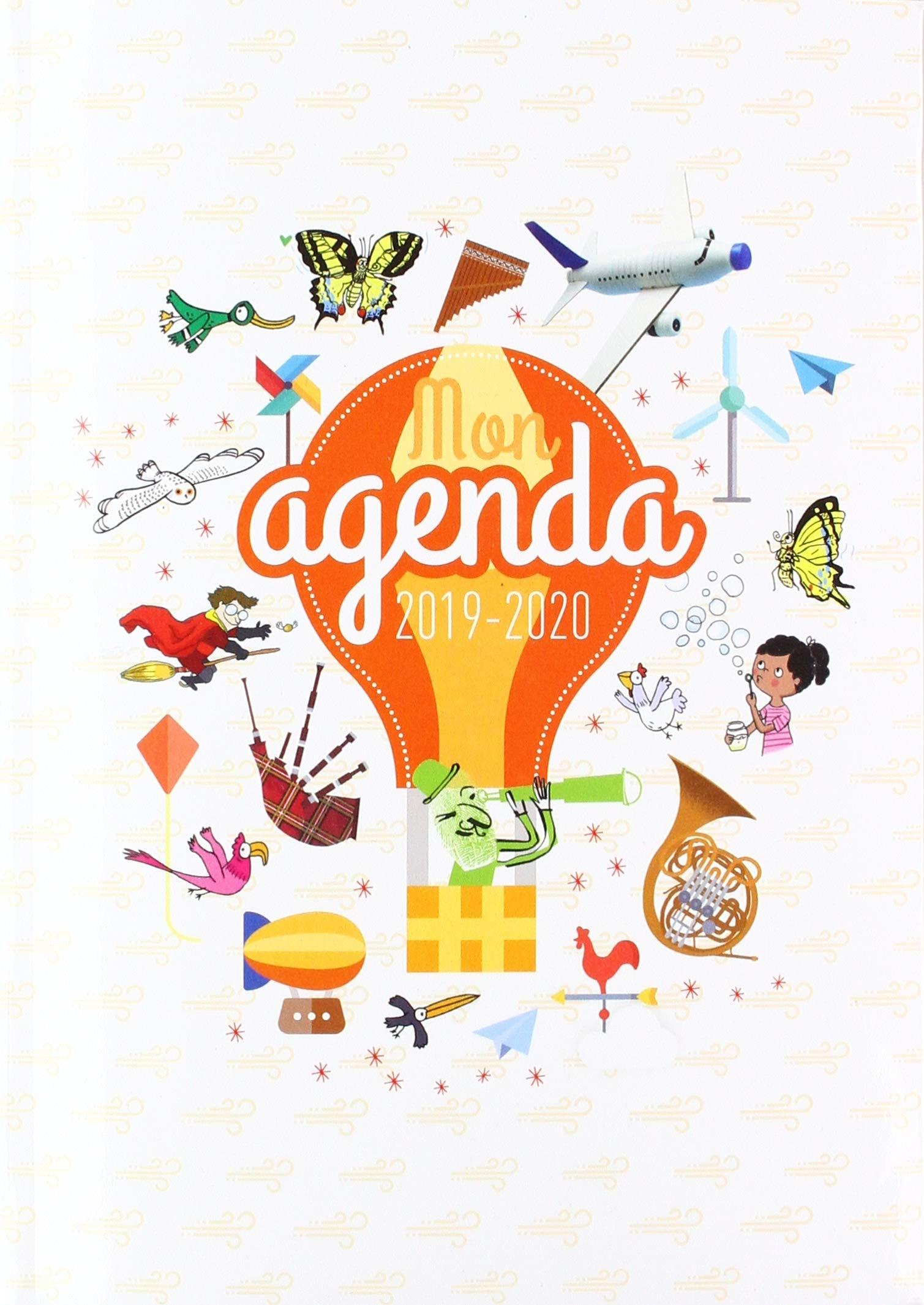 Agenda Scolaire 2019-2020: agenda scolaire 19 20 Eveil ...