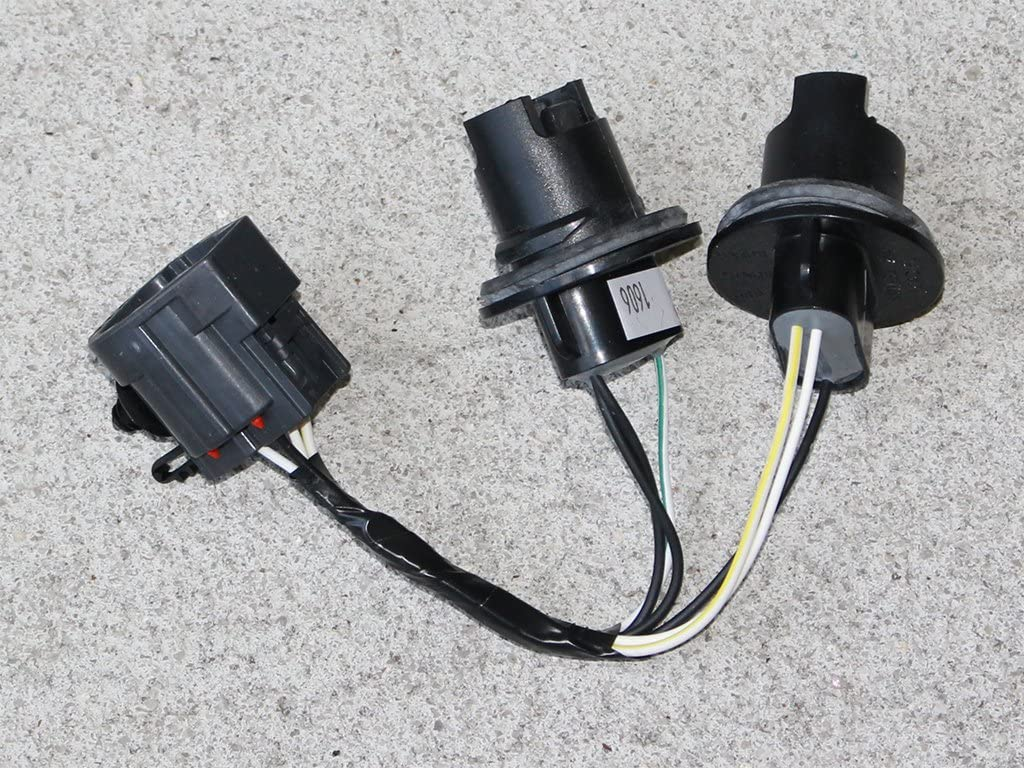 Rear Tail//Stop//Turn Lamp Connector and Wiring for Jeep Wrangler JK 2007-2016