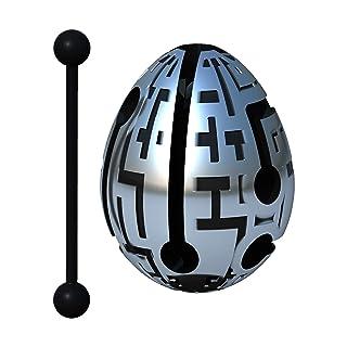 Smart Egg Techno: Puzzle 3D Labirinto e Giocattolo Educativo per Bambini, Livello 7 (Facile) in Una Serie di Rompicapi - Sfida e Divertimento nella Risoluzione del Labirinto all'Interno dell'Uovo