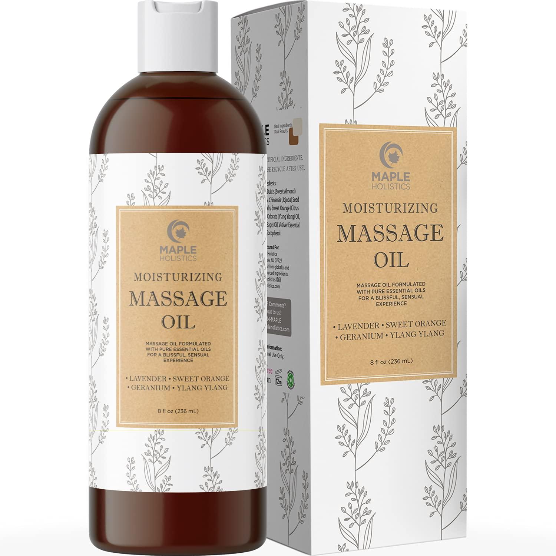Massage sensual oil body 15 Tasty