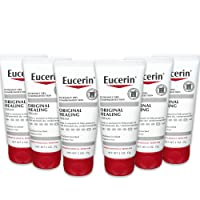 Eucerin Original Healing Cream - Fragrance Free, Rich Lotion for Extremely Dry Skin - 2 oz. Tube (Pack of 6)