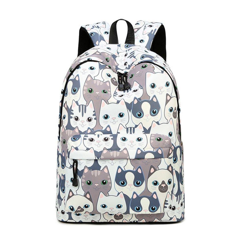 Teecho Girls Waterproof School Backpack Fashion