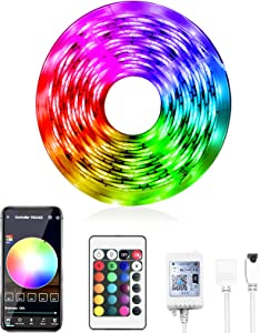 Daybetter Smart WiFi App Control Led Strip Lights Work with Alexa Google Assistant -16.4 feet