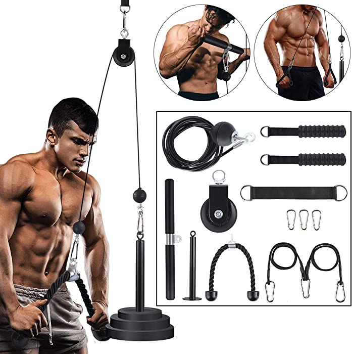 The Best Home Gym Rope Pulley