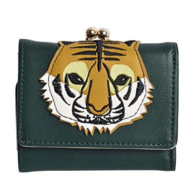 new products 8673d 31806 [フラッパー] FLAPPER 財布 三つ折り財布 レディース コンパクト 動物 アニマル ウォレット がま口 かわいい 女子高生 ミニ財布  キャラクター