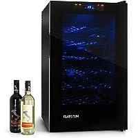 Klarstein MKS-2 • minibar • refrigérateur à boissons • 70 litres • 28 bouteilles • 6 étagères • silencieux • commande écran tactile • température: 08 °- 18 ° C • Éclairage intérieur LED • noir