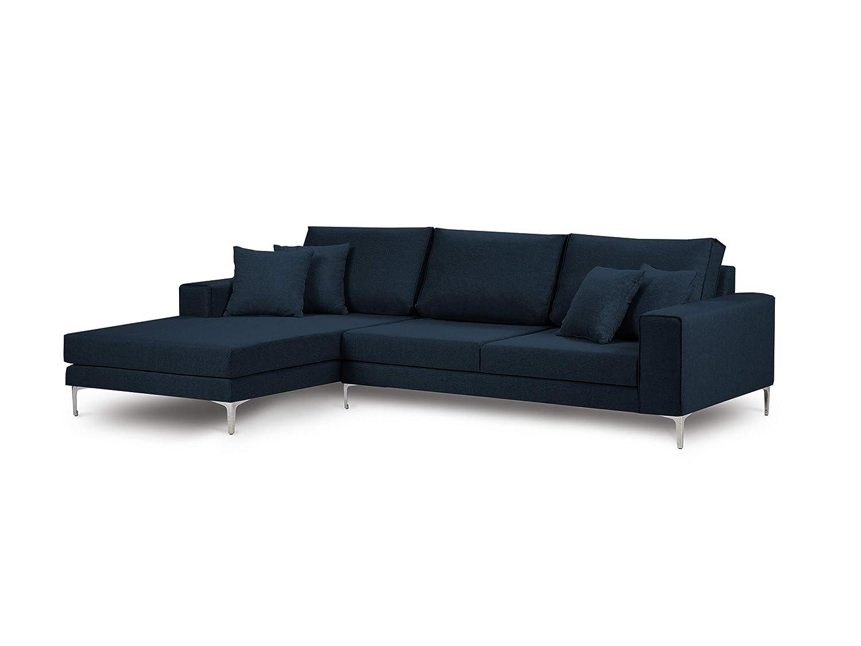 Cosmopolitan Design - Sofá de Esquina Izquierda, 4 plazas ...