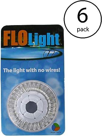 LED Above Ground Swimming Pool Flo Light Wireless Universal FloLight (6  Pack)
