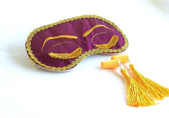 c4f68616be145 Amazon.com: Handmade Breakfast at Tiffany's Eyelashes Sleep Mask ...