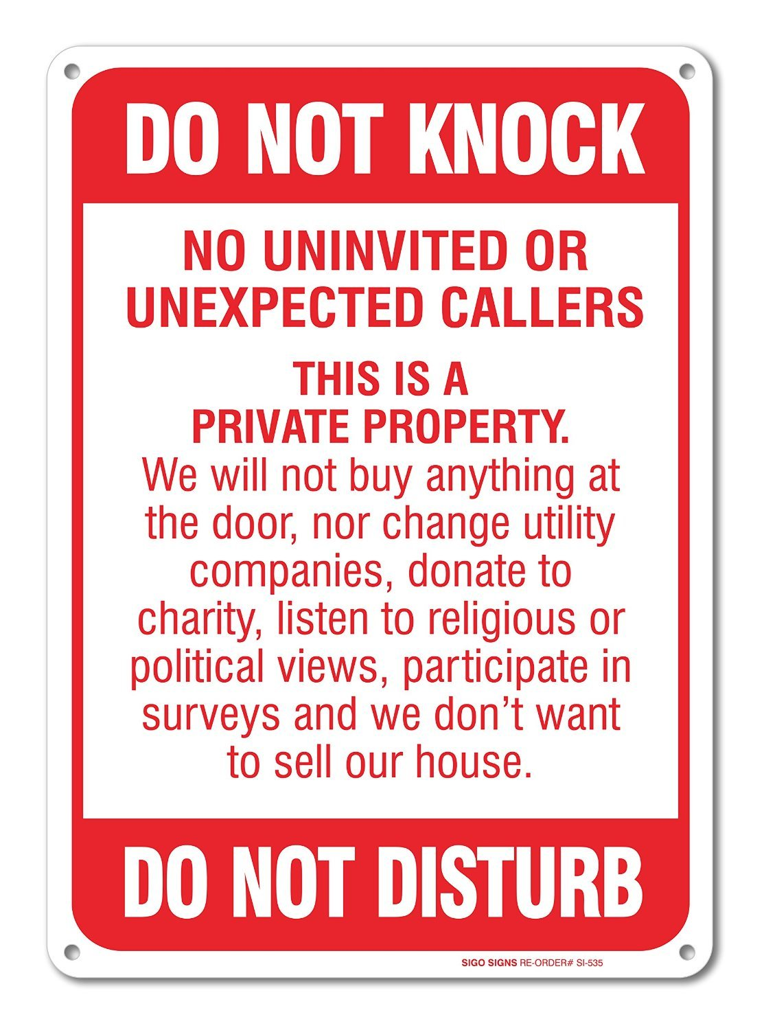 It is a picture of Astounding Free Printable No Soliciting Sign